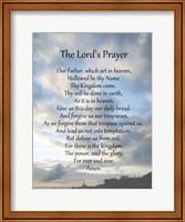 Framed Lord's Prayer - Scenic