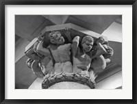 Framed City Hall Figures