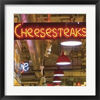 Framed Cheesesteaks