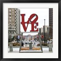 Framed LOVE (Color)