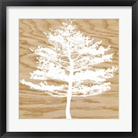 Frosty Tree Framed Print