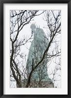 Framed Lady Liberty
