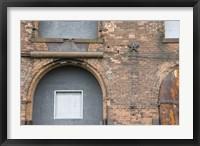 Bricks and Arches I Framed Print