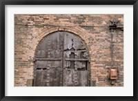 Bricks and Arches II Framed Print