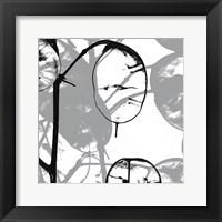 Framed Silver Dollars IX