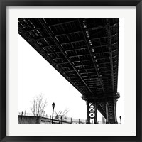Beneath the Span (detail) Framed Print