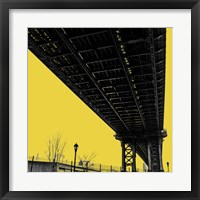 Framed Yellow Underpass
