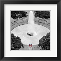 Framed Love from Above (b/w)