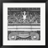 Angel I (b/w) Framed Print