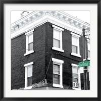 Framed Montrose Street (b/w)