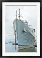 Framed Naval Ship