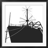 Framed Ship Bow (silhouette)
