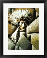 Framed Chief Garfield - Jicarilla Apache