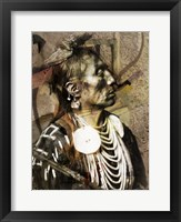 Framed Medicine Crow