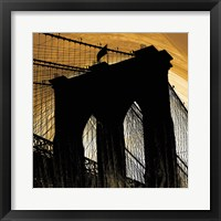 Brooklyn Glow Framed Print