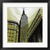 Gilded Empire Framed Print