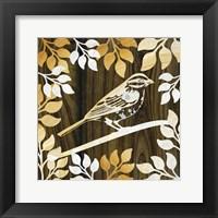Framed Birdie II