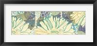 Flower Panel I Framed Print