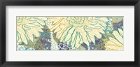 Flower Panel II Framed Print