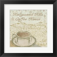 Hollywood Coffee House Framed Print