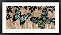 Framed Butterfly Patchwork