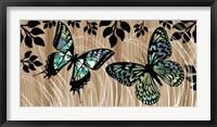 Framed Butterfly Patchwork