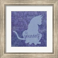 Framed Cat - Be Yourself