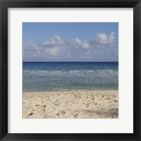 Beach IV Framed Print
