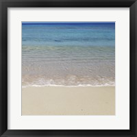Beach V Framed Print