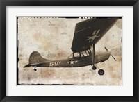 Army Plane Framed Print