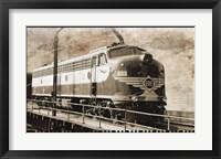Erie Train 1 Framed Print