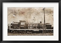 Framed Erie Train 2