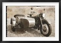 Framed Ural Motorcycle 1