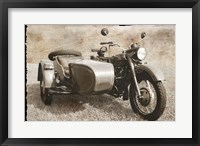 Framed Ural Motorcycle 1