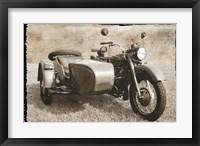 Ural Motorcycle 1 Framed Print