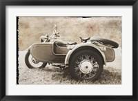 Ural Motorcycle 2 Framed Print