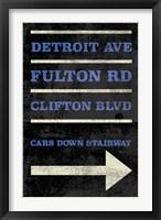 Framed Cleveland