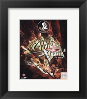 Framed Florida State University Seminoles Helmet Composite
