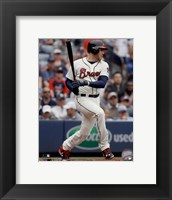 Framed Freddie Freeman 2015 Action