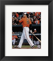Framed Chris Davis 2015 Action