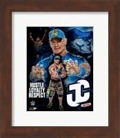 Framed John Cena 2015 Portrait Plus
