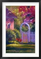 Framed Garden Gate