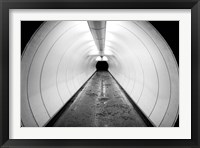 Framed Singapore, Illuminated Pedestrian Tunnel, Paths