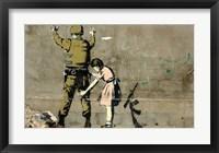 Framed Bethlehem Wall Graffiti (horizontal)
