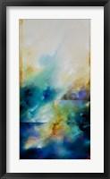 Framed Aqua Breeze