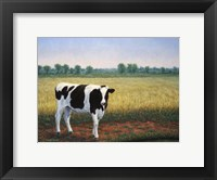 Framed Happy Holstein