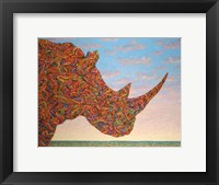 Framed Rhino-Shape