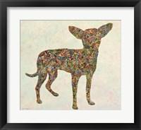 Framed Chihuahua Shape