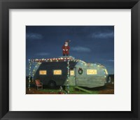Framed Trailer House Christmas