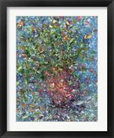 Framed Falling Flowers